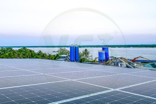 VES lắp đặt điện năng lượng mặt trời cho khách hàng Biên tại Tiền Giang