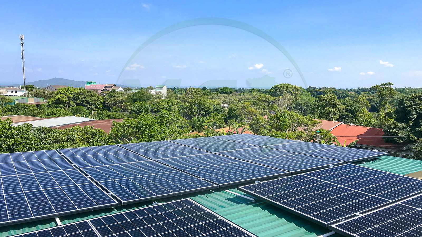 VES lắp đặt điện năng lượng mặt trời cho khách hàng chị Hương tại Đắk Lắk