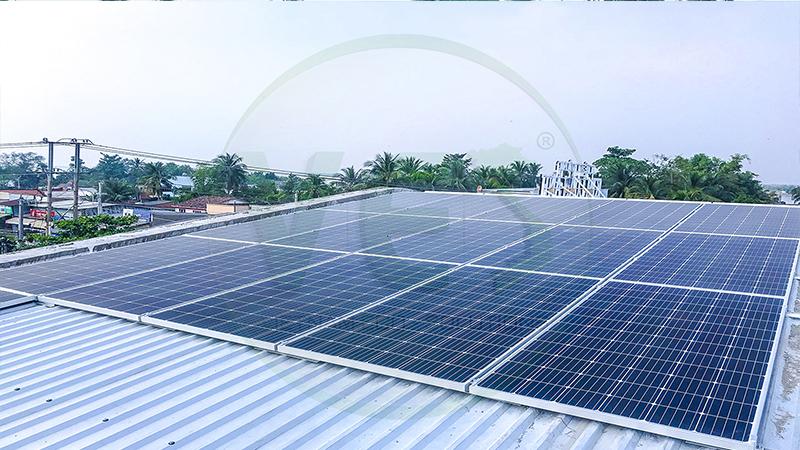 VES lắp điện năng lượng mặt trời tại Vĩnh Long