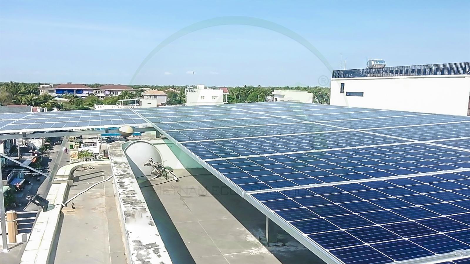 VES lắp điện năng lượng mặt trời tại Tiền Giang