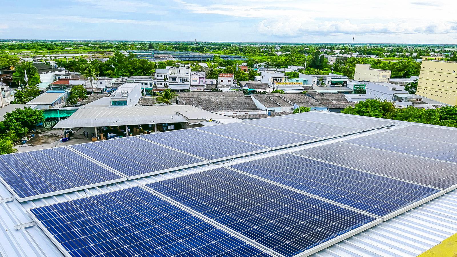 VES lắp điện năng lượng mặt trời tại Bạc Liêu