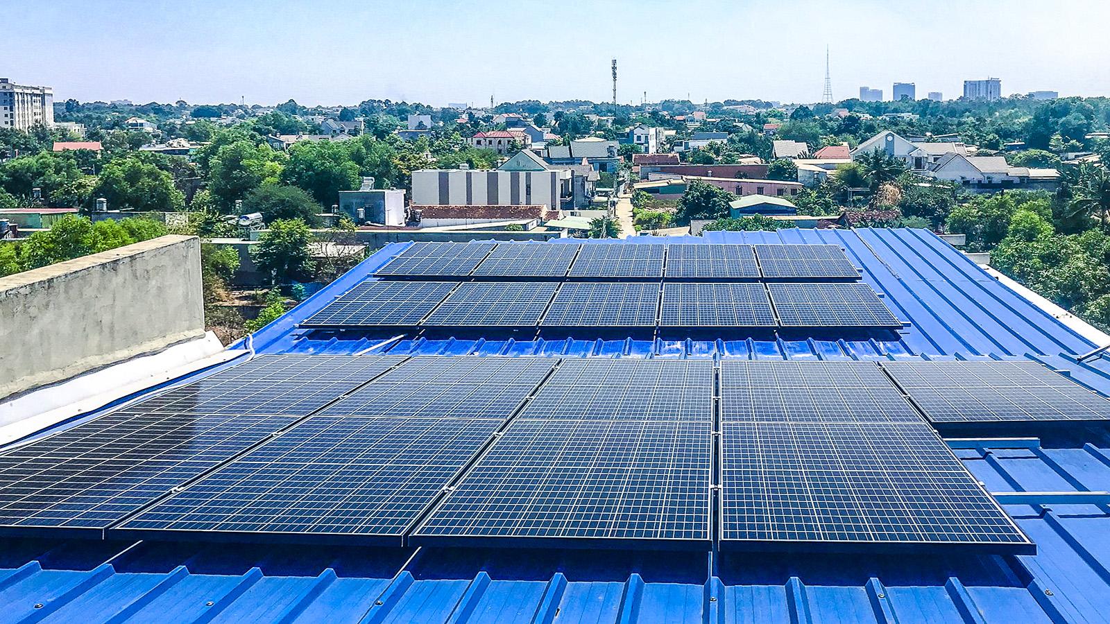 VES lắp điện năng lượng mặt trời tại Hồ Chí Minh