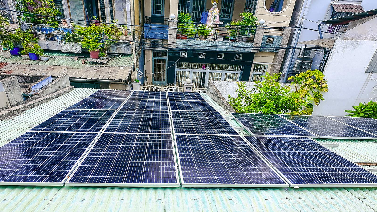 VES lắp điện năng lượng mặt trời tại  Biên Hòa - Đồng Nai