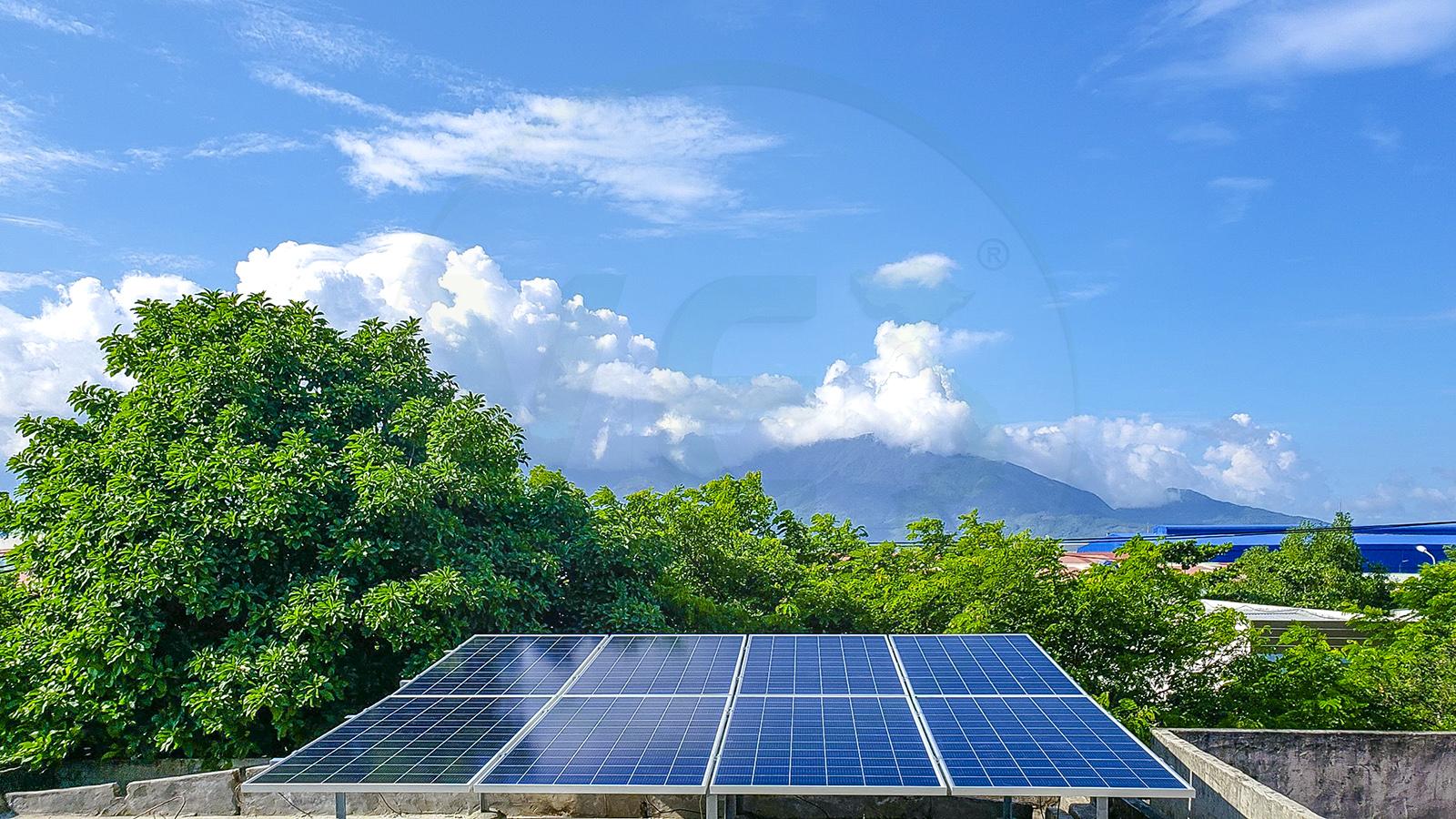 VES lắp điện năng lượng mặt trời tại Đà Nẵng