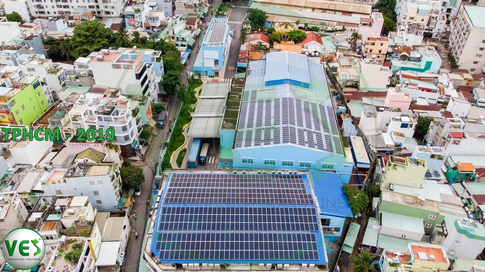 VES lắp điện năng lượng mặt trời tại Tp. Hồ Chí Minh